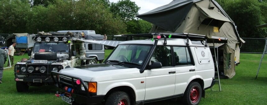 Billing Land Rover show 2014